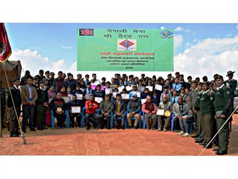 भैरब गणको आयोजनामा हाजिरी जवाफ प्रतियोगिता सम्पन्न
