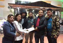 तामाङ समाज कतारद्वारा काभ्रेकी डोल्मालाई आर्थिक सहयोग