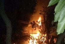 काभ्रेको एक घरमा भिषण आगलागी, लाखौंको क्षति